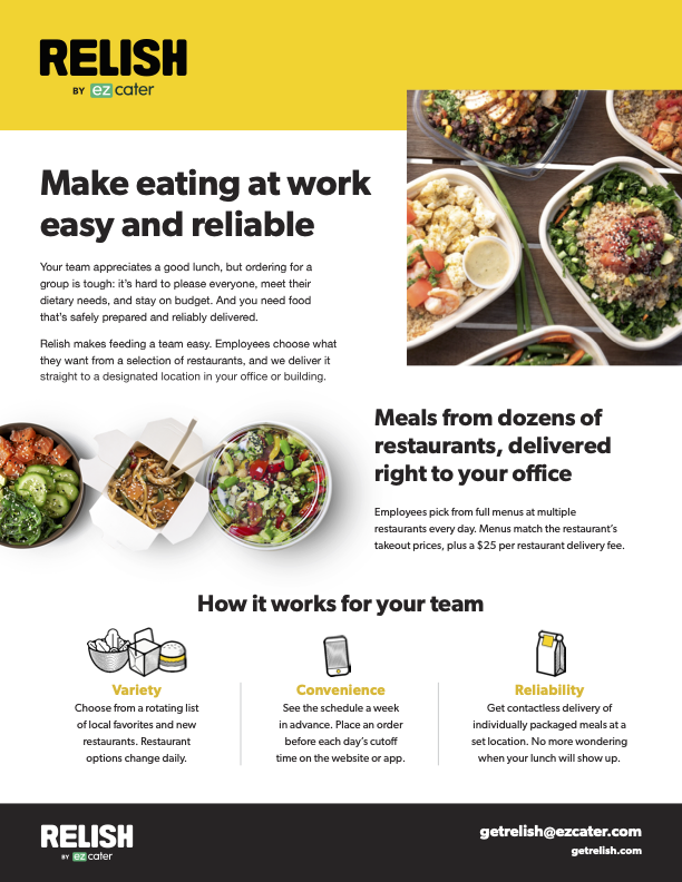 Relish Overview PDF