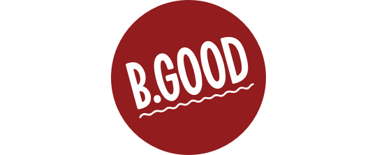 Logo for B.GOOD
