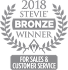 Gold Stevie American Business Award for Most Innovative Company of the Year